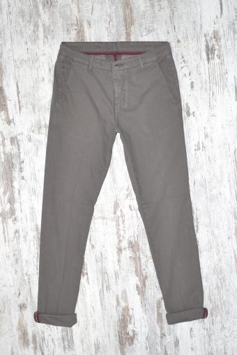A17P016    0078 CHINOS PIPER charcoal gray