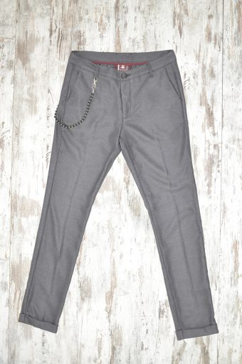 A17P017    0009 CHINOS LONDON Dark gray