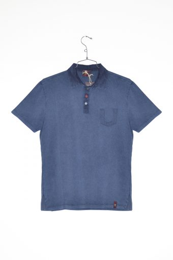A17PS004   0002 POLO POCKET Blue