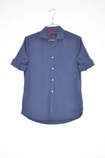 A17S029    0002 SHIRT COLORED POIS Blue