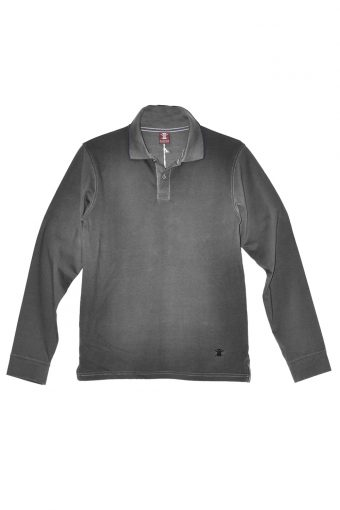 A17PS002   0009 POLO AOP Dark gray