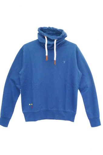 S18F007    0003 TURTLENECK FLEECE 65%CO 30%PL 5%EL Royal