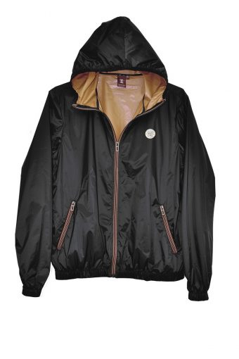 S18J002    0090 WIND JACKET 100%NY Black