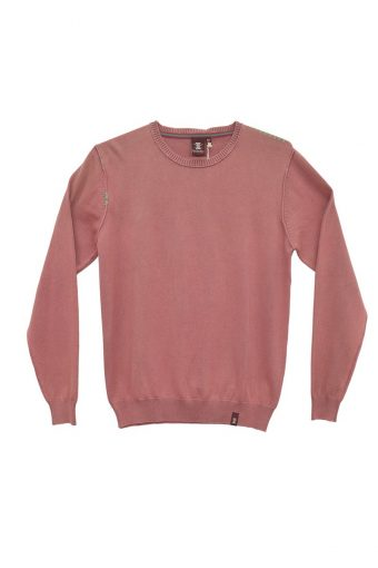 S18M007    0066 ACID SWEATER 100%CO Fandango - Pink