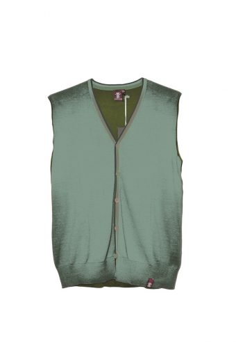 S18M012    7170 VEST COLORS 100%CO Military Green - Sage