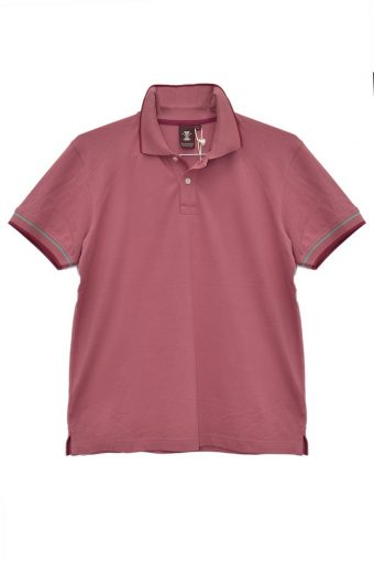 S18PS008   0066 POLO WATER RESISTENT 60%CO 40%PL Fandango - Pink