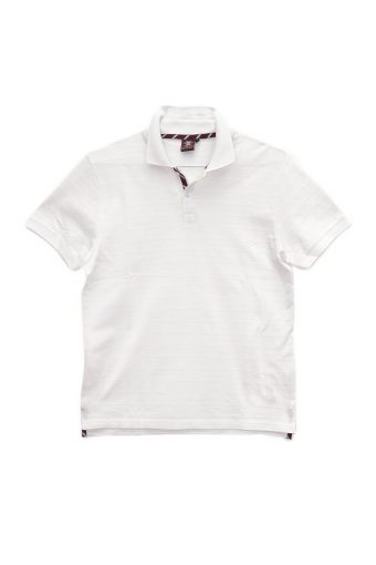 S18PS010   0050 POLO JACQUARD 100%CO Ice Flow - Optical White
