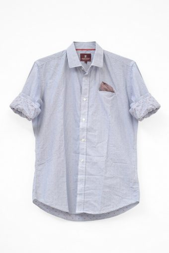 S18S006    0045 SHIRT MENORCA 100%CO Light Blue