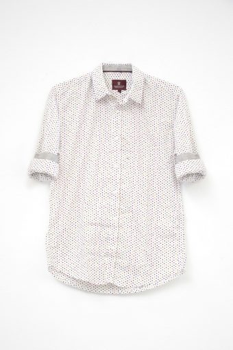S18S011    0016 SHIRT RODI 98%CO 2%EL Off White