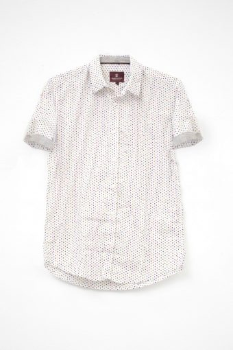 S18S011S   0016 SHIRT RODI 98%CO 2%EL Off White