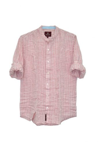 S18S013    0094 SHIRT CAMOGLI 100% CO Red