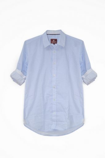 S18S014    0045 SHIRT CAPRI 98%CO 2%EL Light Blue