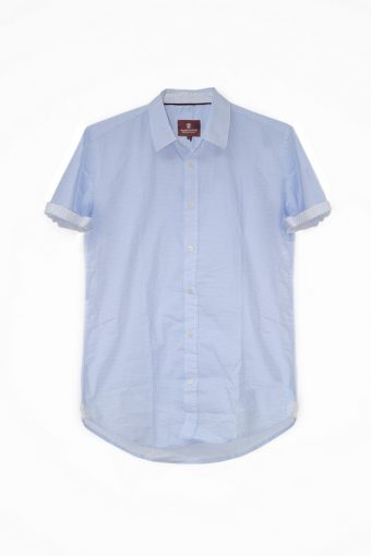 S18S014S   0045 SHIRT CAPRI SHORT SLEEVES 98%CO 2%EL Light Blue
