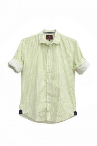 S18S018    0020 SHIRT MOJITO 98%CO 2%EL Pistacchio Green