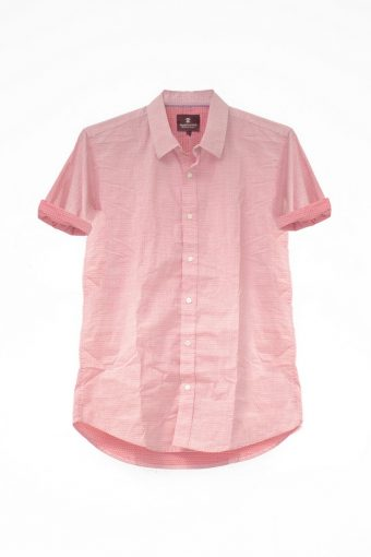 S18S022S   0094 SHIRT MUSIC SHORT SLEEVES 98%CO 2%EL Red