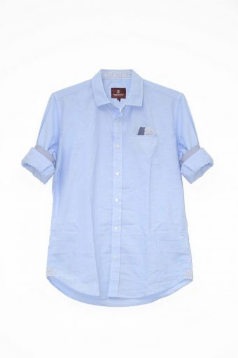 S18S027    0045 SHIRT OXFORD 100%CO OXFORD Light Blue