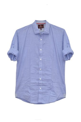 S18S035    0002 SHIRT AMALFI 100%CO Blue
