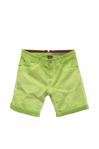 S18SH021   0020 5 POCKETS SHORTS 98%CO  2%EL Pistacchio Green