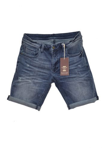 S18SHJ001  0002 SHORT DENIM 100%CO DENIM Blue