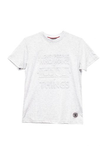 S18T013    0016 T-SHIRT COOL 60%CO 40%PL Off White