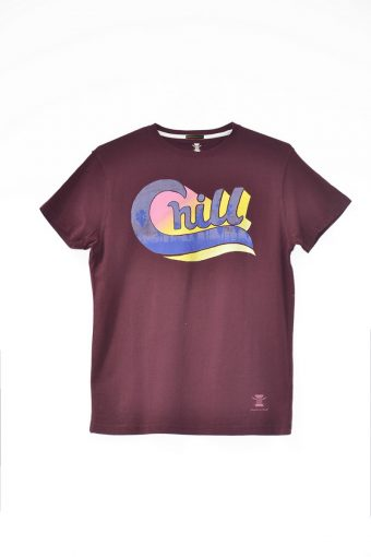S18T037    0083 T-SHIRT SPORT01 100%CO Bordeaux