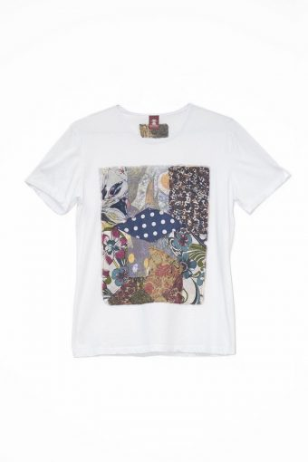 S18T048    0016 T-SHIRT COLOR POWER 100%CO Off White