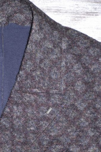 A18J002    0009 LONDON BLAZER - 1%EA 31%PL 56%VI 12%WV ACC. Dark gray