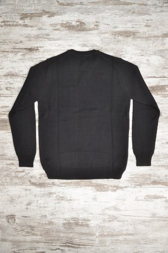 A18M009    0090 SWEATER SPORTS - 100%CO Black