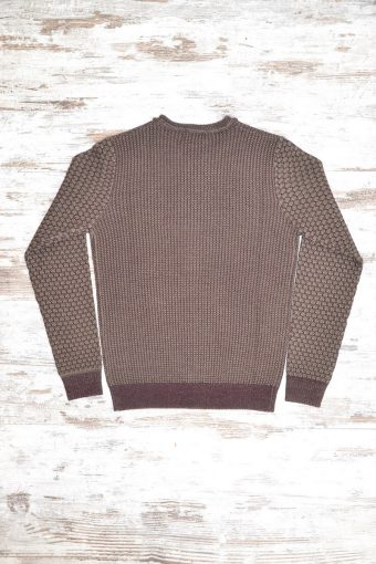 A18M010    8369 SWEATER ROMA - 70%ACRYLIC 30%WOOL Bordeaux - Squirrel