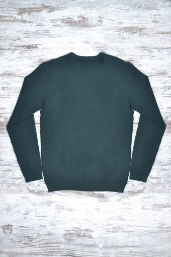 A18M036    0077 SWEATER VILNIUS - 80%CO 20%NY Dark Green