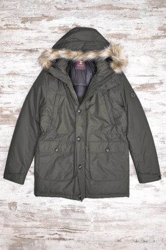 A18J009    0071 FIELD JKT - 80%PL 20% NY Military Green