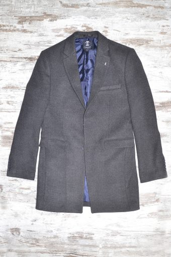 A18J028    0001 BASIC OVERCOAT Anthracite