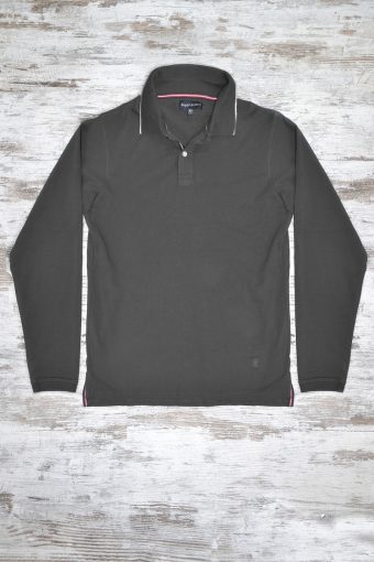 A18PS001   0001 POLO BASIC - 95% CO 20% EL JERSEY Anthracite