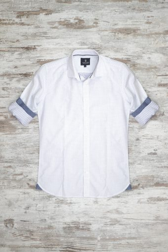 A18S002    0016 SHIRT POIS - 100%CO Off White