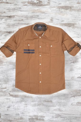 A18S009    0069 SHIRT NEW ORLEANS - 100%CO Cord