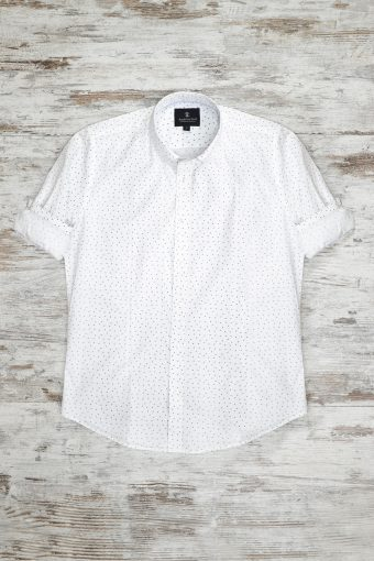 A18S021    0016 SHIRT TRIANGLE - 100%CO Off White