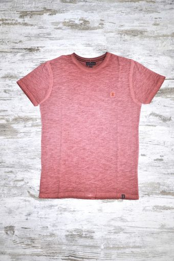 A18T029    0080 T-SHIRT GD BASIC - 100% SLUB JERSEY CO Orange