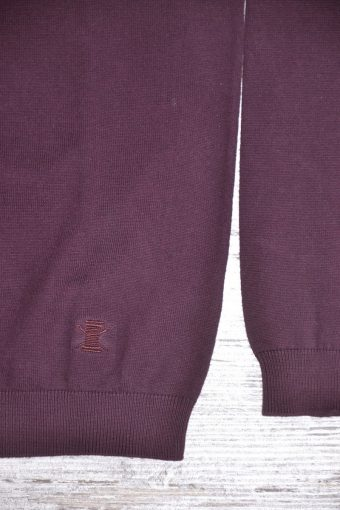A18M003    0083 SWEATER TURTLENECK BASIC - 80%CO 20%NY Bordeaux