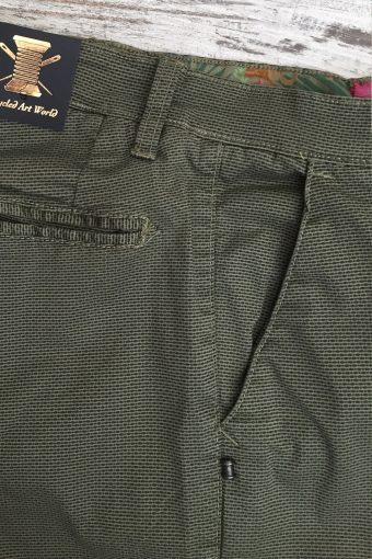 S19P003    0071 CHINO AOP - 98%CO 2%EA Military Green
