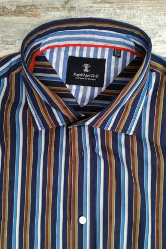 S19S040    0002 SHIRT OCEAN - 100%CO Blue