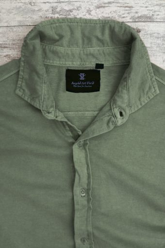 S19S046S   0071 SHIRT JERSEY SHORT SLEEVES - 100%CO JERSEY Military Green
