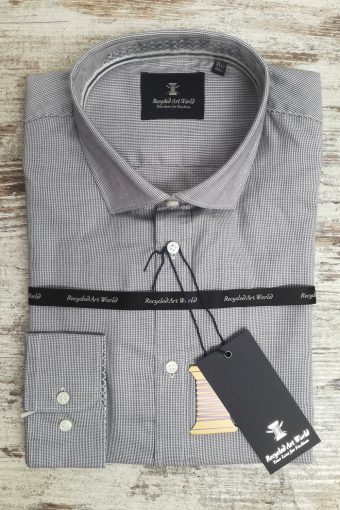 S19S016    0061 SHIRT MONACO - 100%CO Gray