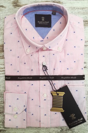 S19S035    0067 SHIRT PINK GRAPEFRUIT - 100%CO Mauve Rose