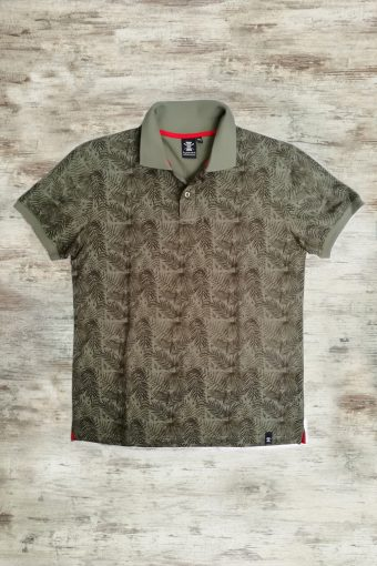 S19PS005   0071 POLO TROPICAL - 100%CO PIQUET Military Green