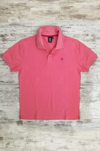 S19PS007   0066 POLO SCOOTER - 95%CO 5%EA PIQUET Fandango - Pink