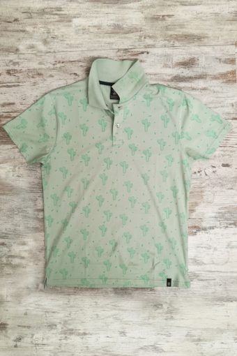 S19PS010   0070 POLO CACTUS - 100%CO JERSEY Sage Green - Green