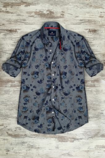 S19S011    0042 SHIRT INDACO - 100%CO Dark Denim - Blue