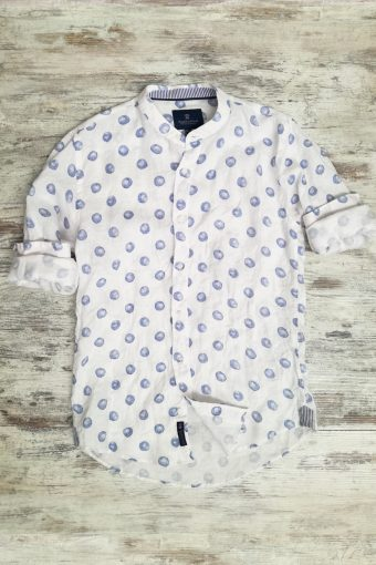 S19S018K   0045 SHIRT POIS LINEN - 100%LI Light Blue