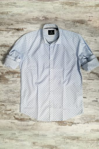 S19S041    0045 SHIRT FLORENCE - 100%CO Light Blue