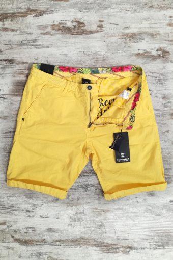 S19SH001   0010 CHINO SHORT BASIC - 100%CO Yellow